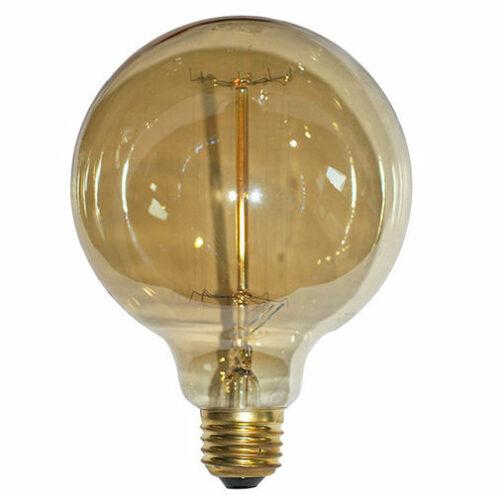 Edison  Delta  iota  alpha  kappa  omicron  sigma  mu  eta  tau  iota  kappa    Globe G125  Epsilon 27 40W 230V 2200K 130LM
