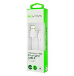 ΚΑΛΩΔΙΟ ΦΟΡΤΙΣΗΣ LIGHTNING (i-Phone) ΣΕ USB 1m LAMTECH