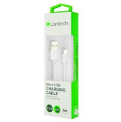 ΚΑΛΩΔΙΟ ΦΟΡΤΙΣΗΣ MICRO USB ΣΕ USB 1m LAMTECH